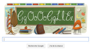 google doodle rentrée scolaire 2013