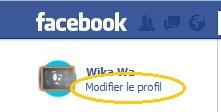 facebook - profil