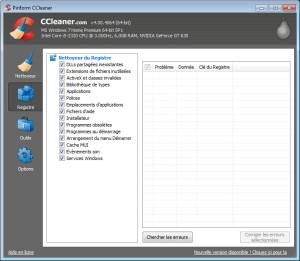 ccleaner - registre