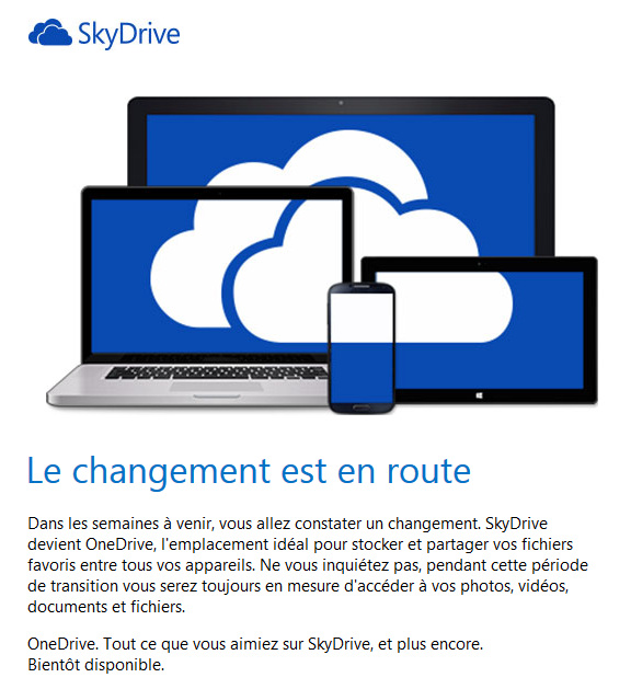 Mail Onedrive